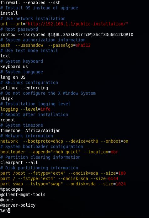 Simple kickstart installation server | Abd El-Hamid Ibrahim